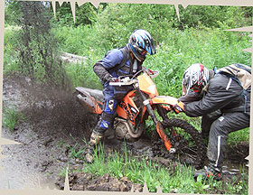 Dirt Biking Enduro Off-road Adventure in Russia